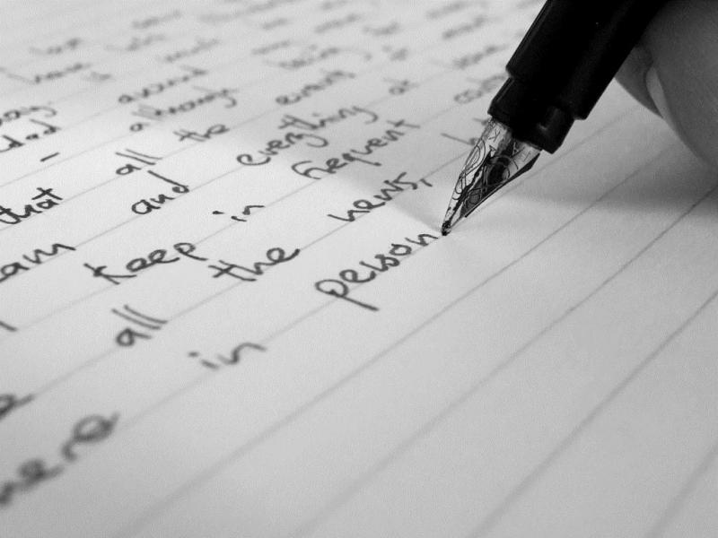 Học viết tiếng Anh
