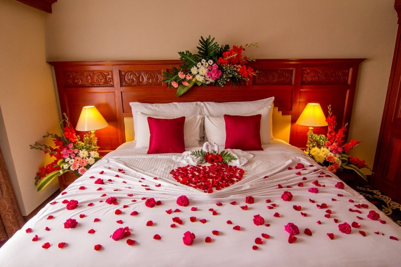 Phòng tân hôn là nơi vô cùng quan trọng của đôi uyên ương để bắt đầu cuộc sống mới cùng nhau.