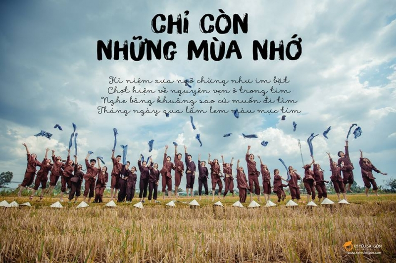Kỷ Yếu Sài Gòn - Địa chỉ chụp hình kỷ yếu đẹp và chất lượng nhất TP. HCM