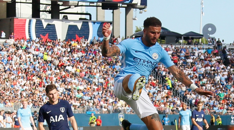 Kyle Walker đến Manchester City