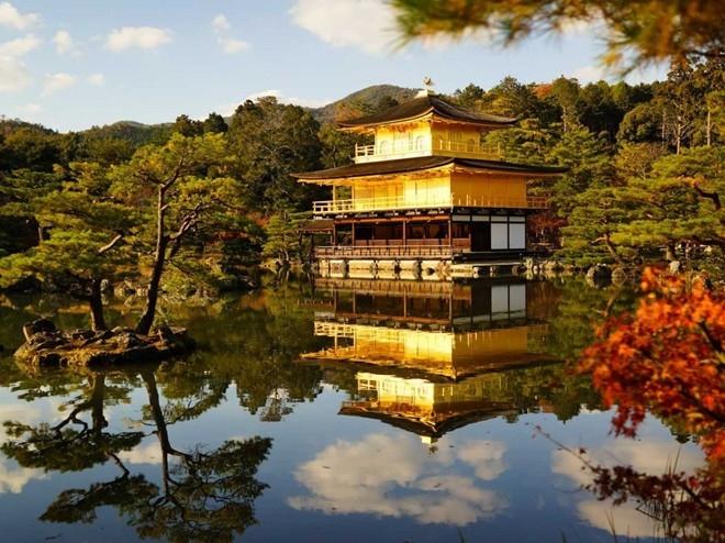Một ngôi đền nhỏ ở Kyoto.
