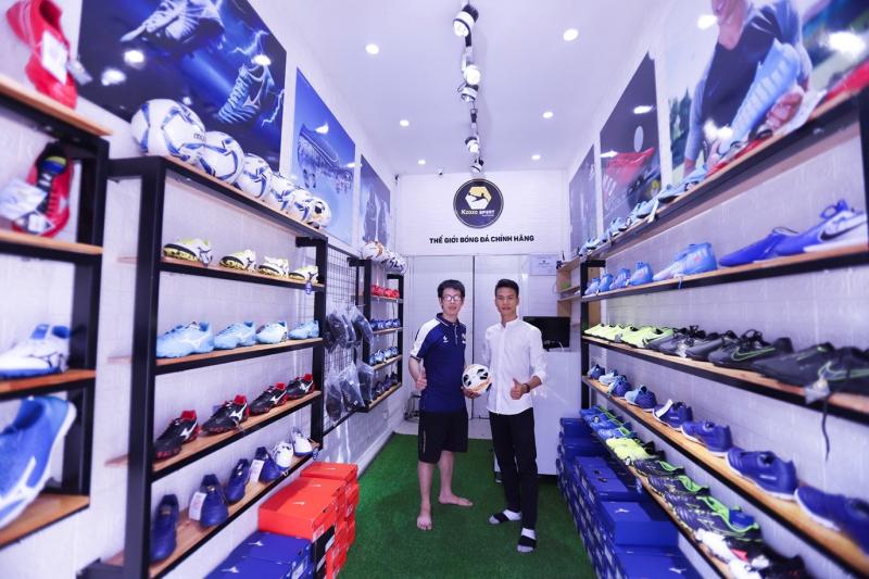 Top 6 cửa hàng giày bóng đá chất lượng nhất tại Hải Phòng