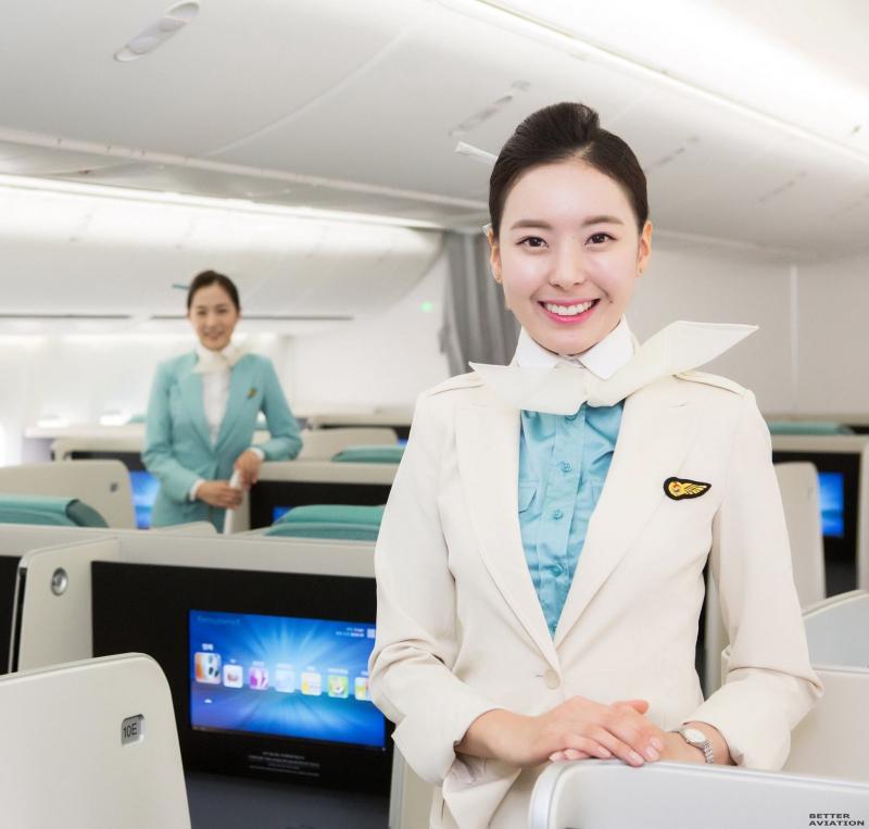 tiếp viên hàng không Hàn Quốc