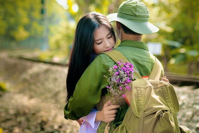 Một người bạn đời là quân nhân đang là mong muốn của rất nhiều bạn gái hiện nay
