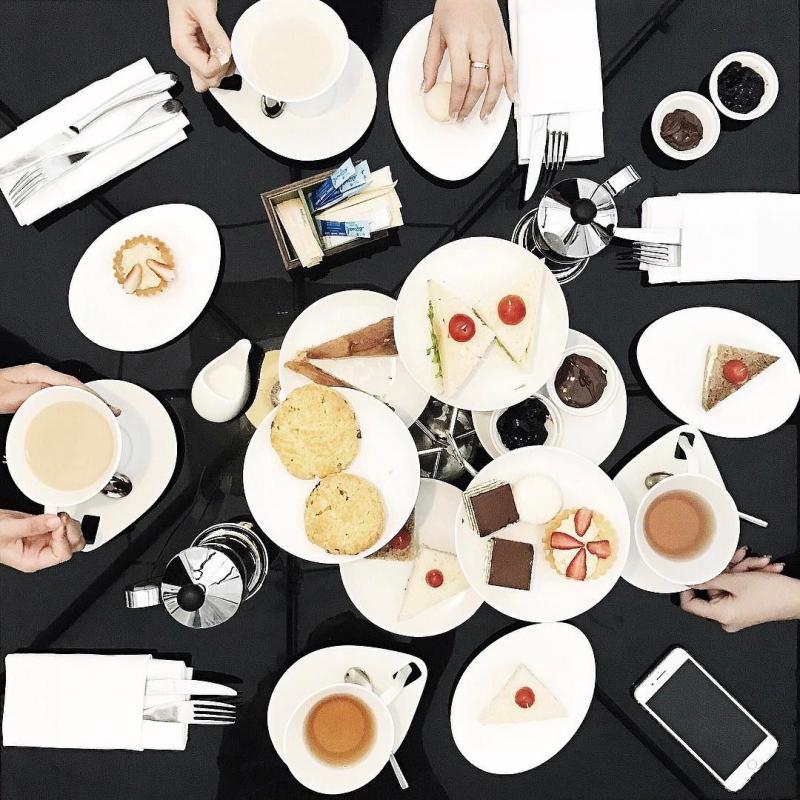 Bữa tiệc trà chiều sang trọng cho hội bạn thân những chiều đổi gió