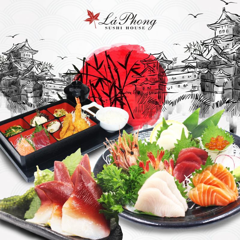 Lá Phong Sushi House – Trần Cao Vân
