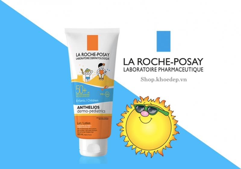 Kem chống nắng dành cho trẻ em La Roche Posay Anthelios Dermo Kid SPF 50+
