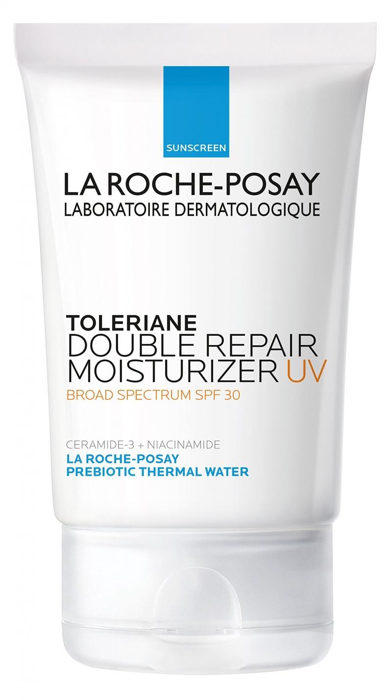 Toleriane Double Repair Moisturizer UV bổ sung nguồn ẩm cho da lên đến 48 giờ và giúp khôi phục lại lớp bảo vệ tự nhiên cho da chỉ sau một giờ