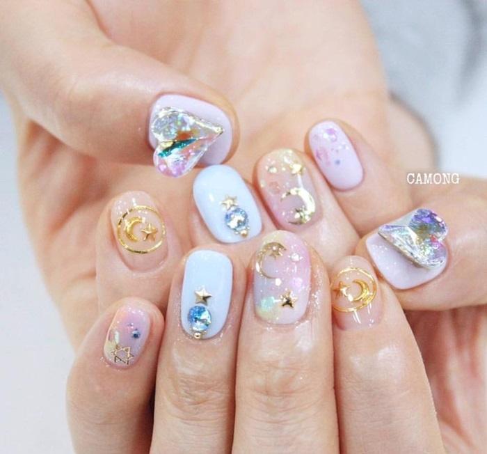 Mẫu nail xinh và đa dạng cho khách lựa chọn