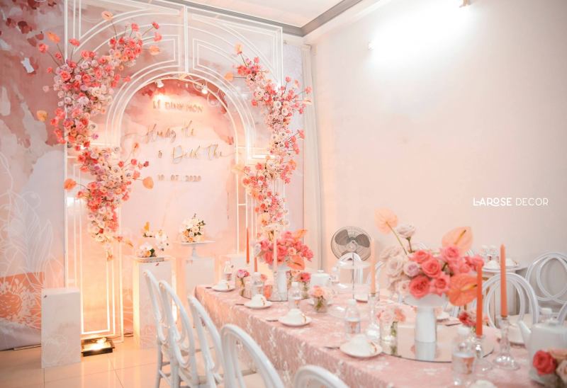 LA ROSE wedding decor