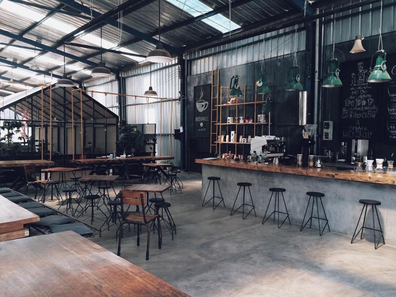 Không gian độc đáo của Là Việt Coffee