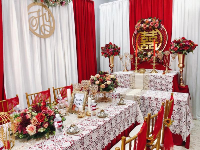 LÁ wedding and decor