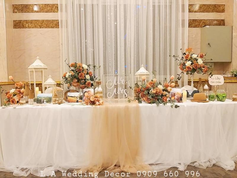 L.A Wedding Decor