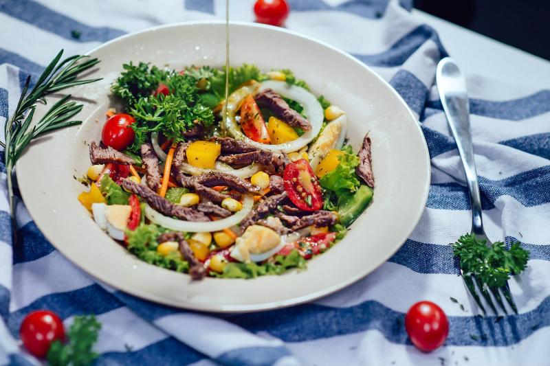 LAB - Salad & Juice