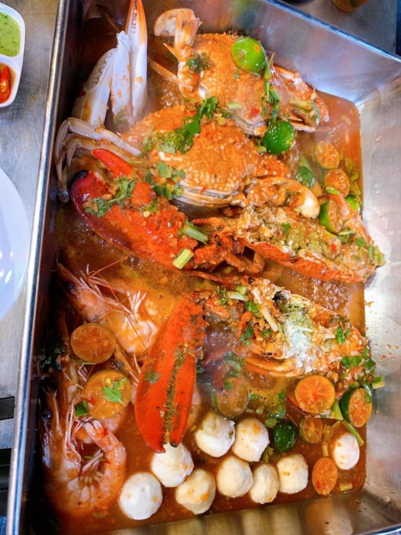 Lắc kiu - bạch tuộc cay phô mai