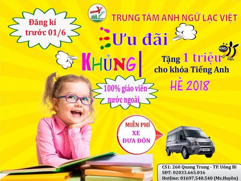 Trung tâm Anh ngữ Lạc Việt