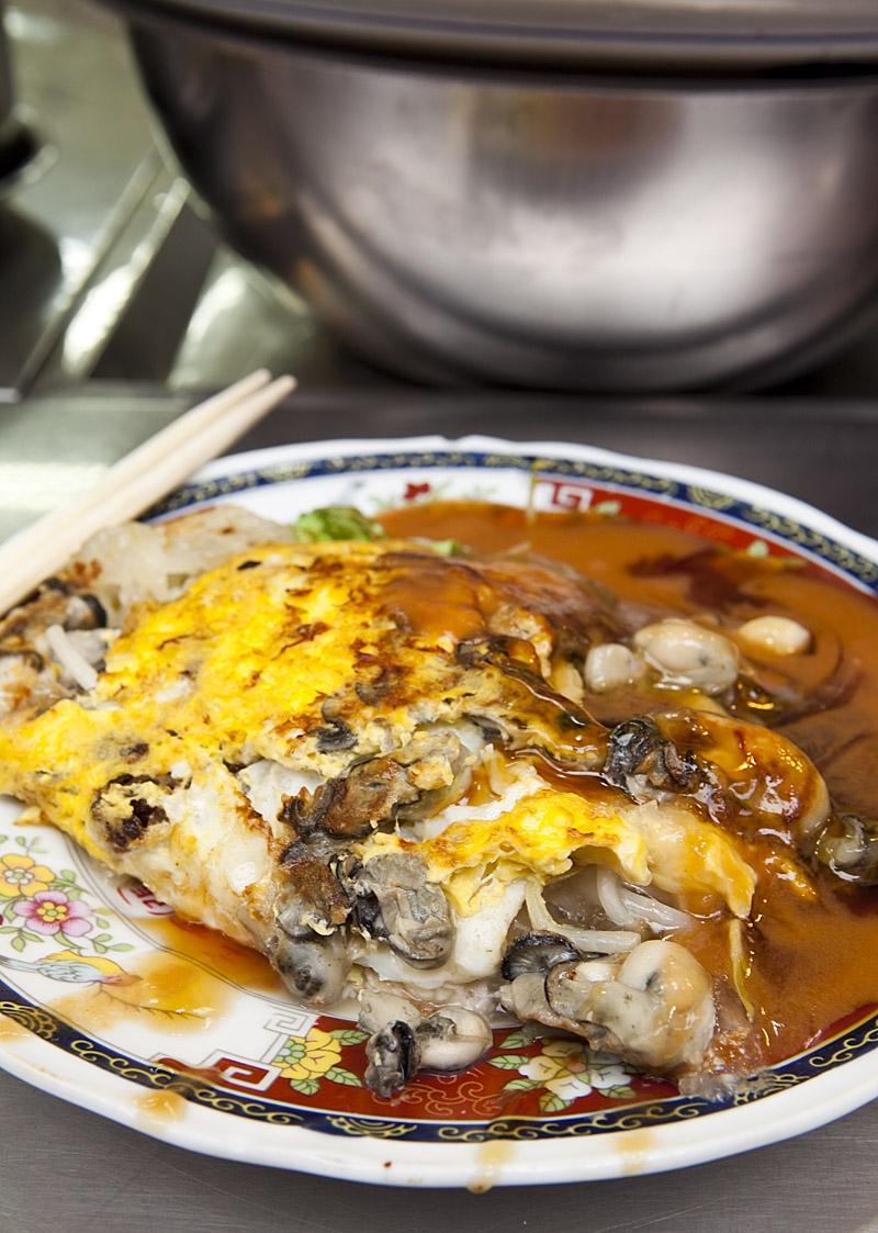 Món trứng chiên hàu