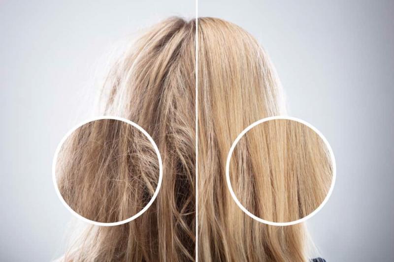 Đi ngủ khi tóc còn ướt làm cho tóc xơ, rối
