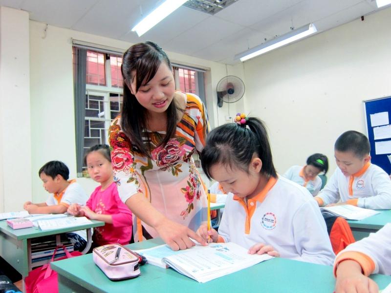 Làm chủ môi trường -  bí quyết giúp giữ trật tự trong lớp