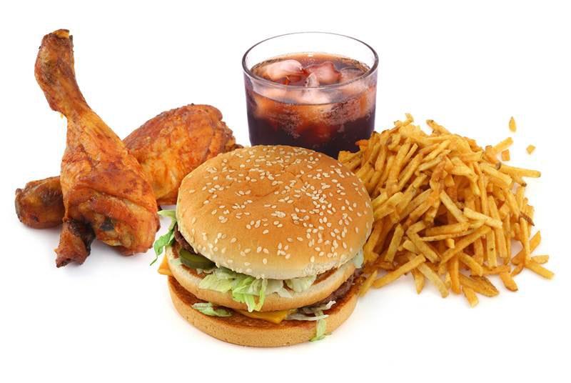 Lạm dụng đồ ăn nhanh