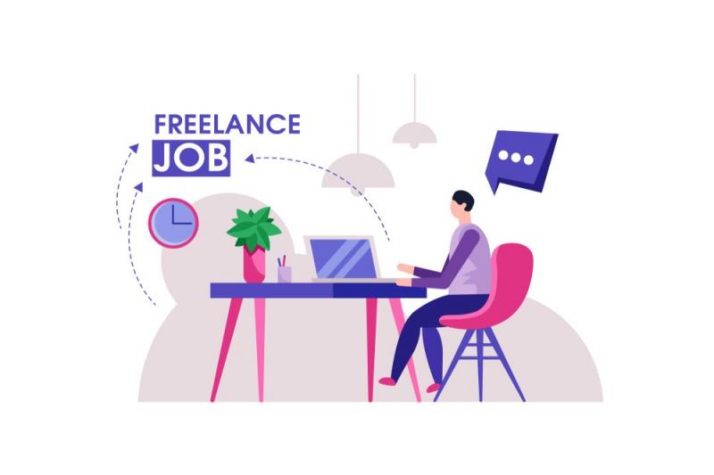 Freelancer được giới trẻ yêu thích do được tự do về thời gian, địa điểm làm việc.