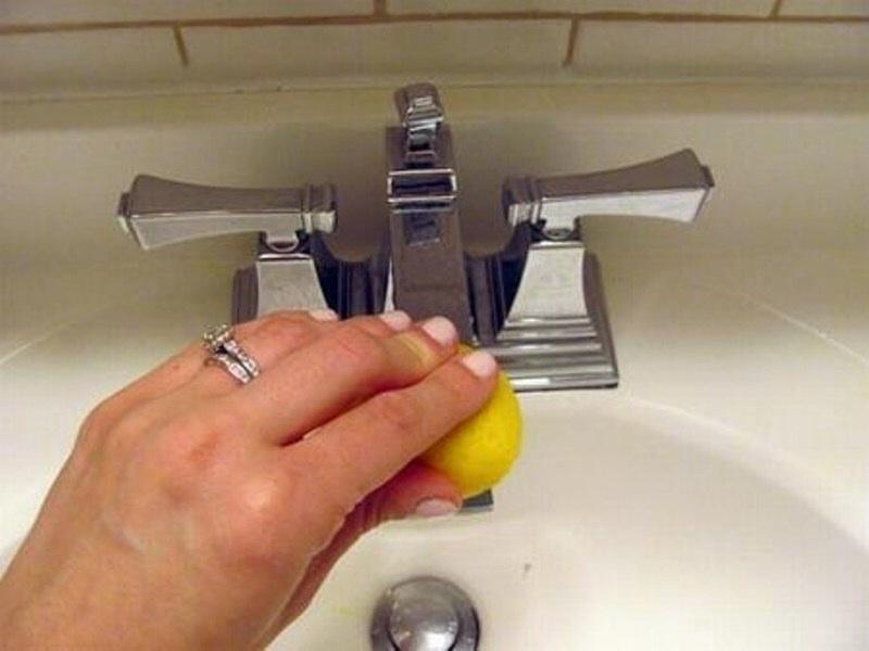 Làm sạch các ngóc ngách khó chùi rửa