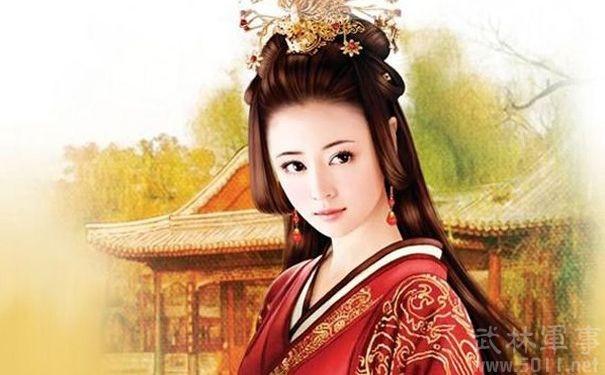 Tranh vẽ Hoàng hậu Đậu Y Phòng dựa trên tạo hình của diễn viên Lâm Tâm Như