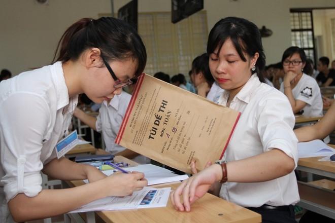 Các bài thi trong kì thi THPT Quốc gia