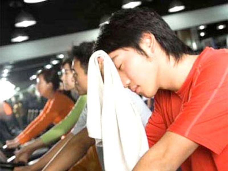 Luyện tập thể dục nhưng không để quá sức