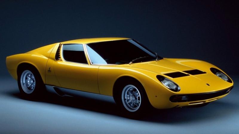 Lamborghini Miura (1966-1973)
