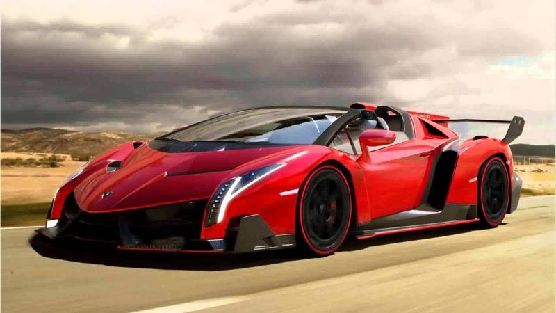 Siêu xe mui trần Lamborghini Veneno Roadster