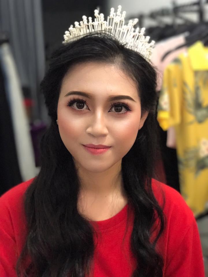Lan Abi makeup