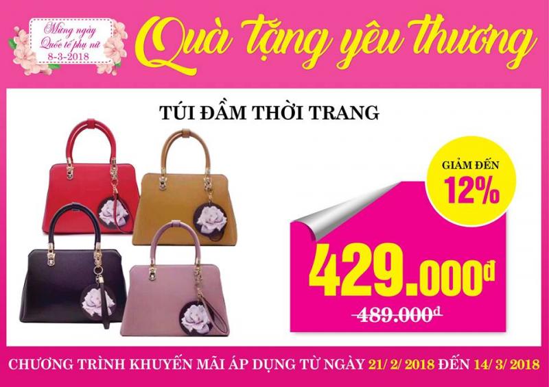 Túi xách Lan Chi Mart