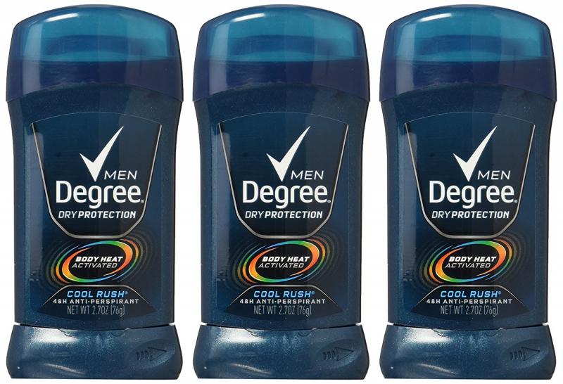 Lăn khử mùi Degree Men Dry Protection Body Heat Cool Rush 76g