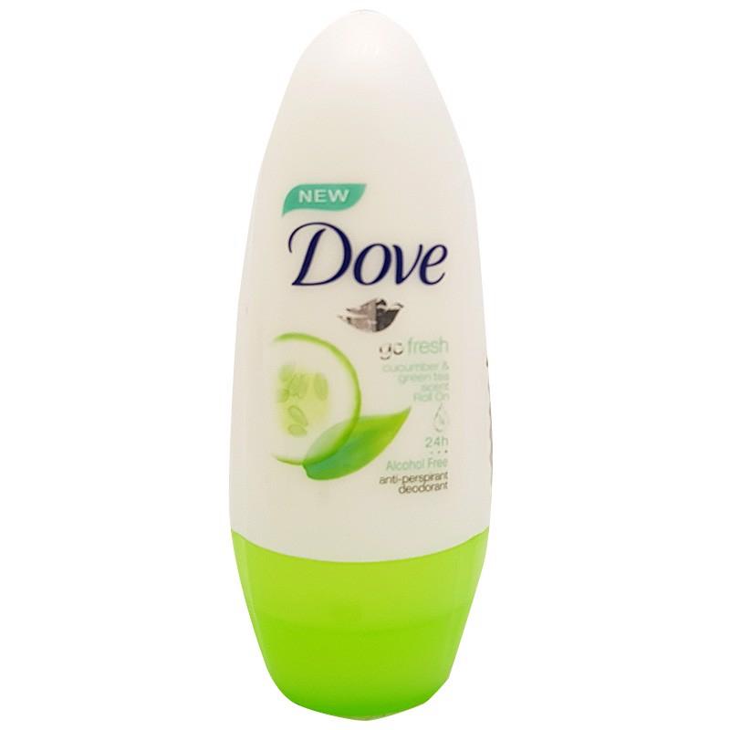 Lăn khử mùi Dove hương dưa leo