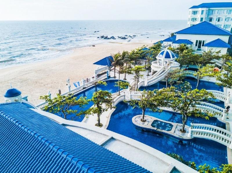 Toàn cảnh Lan Rừng Resort & Spa nhìn từ trên cao