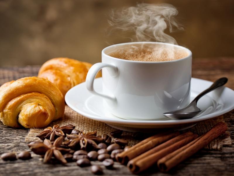 Hương cafe bay nghi ngút