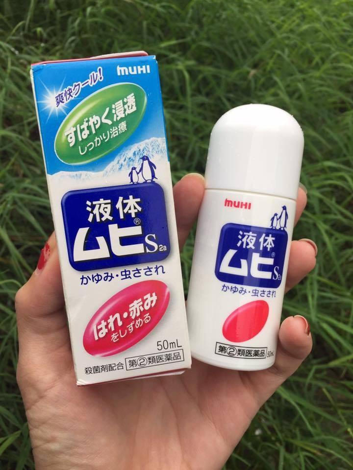 Lăn trị muỗi đốt Muhi Nhật