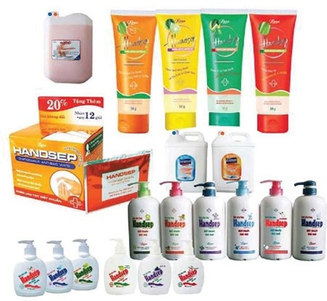 Một số sản phẩm mỹ phẩm của LANA