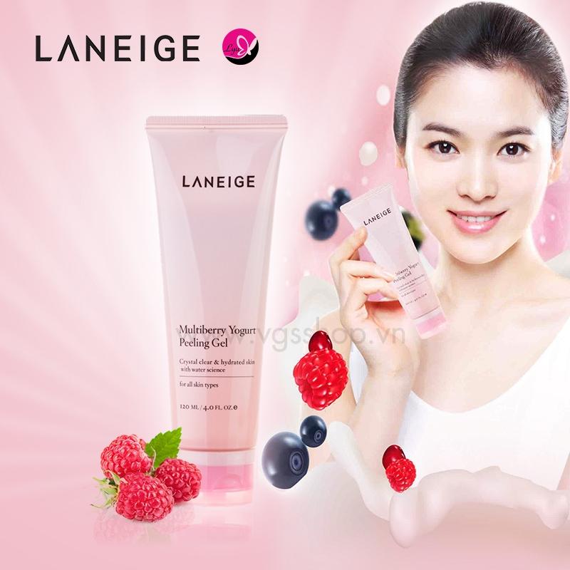Gel tẩy tế bào chết Laneige multiberry yogurt peeling gel