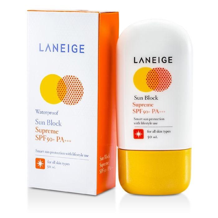 Kem chống nắng Laneige Sun Block Supreme SPF50+ PA+++