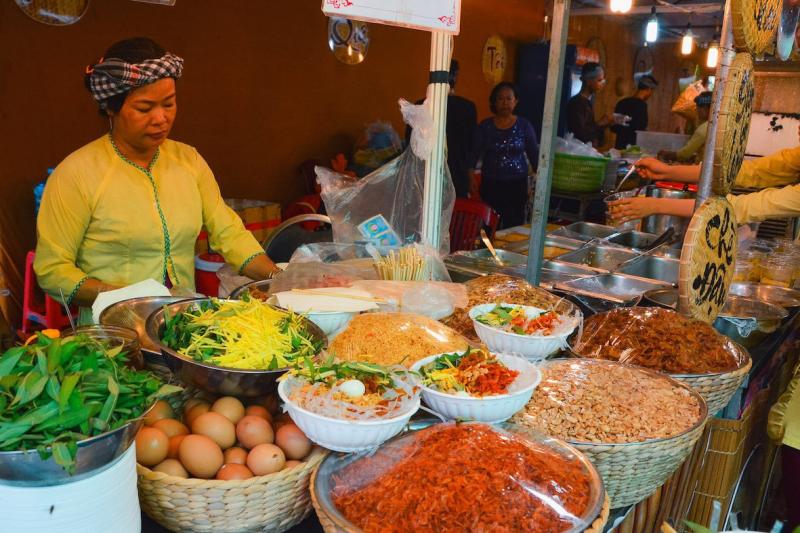 Làng ẩm thực Bình Dương