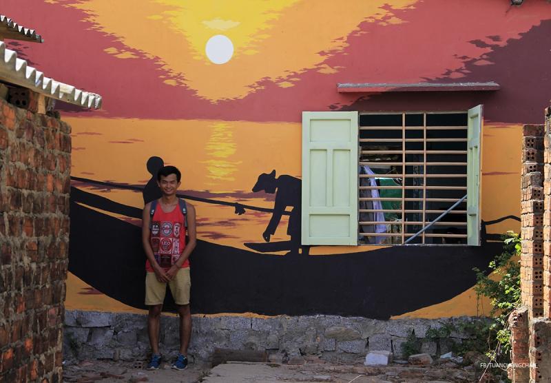 Làng Bích Hòa Tam Thanh Hội An với những bức tranh miêu tả cuộc sống bình dị