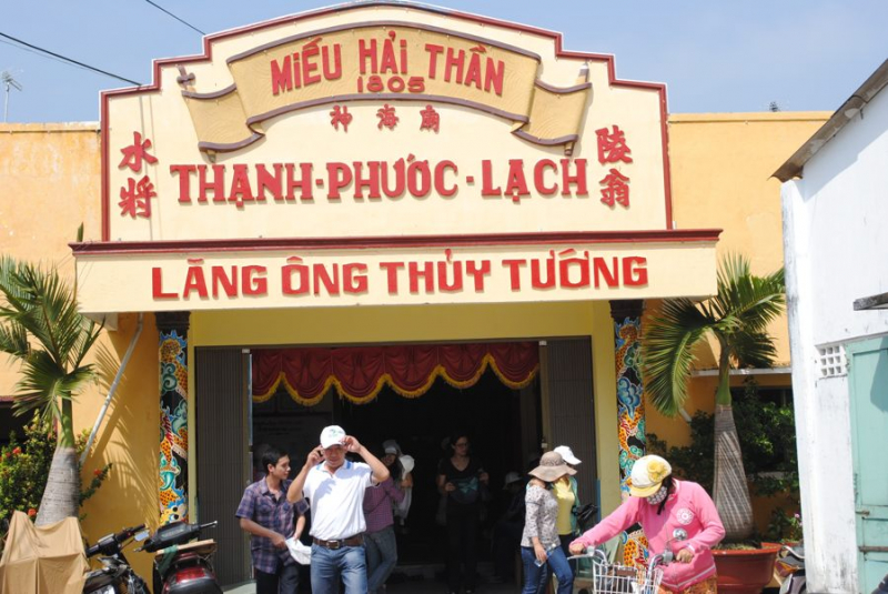 Lang Co Ong is a tourist attraction attracting tourists