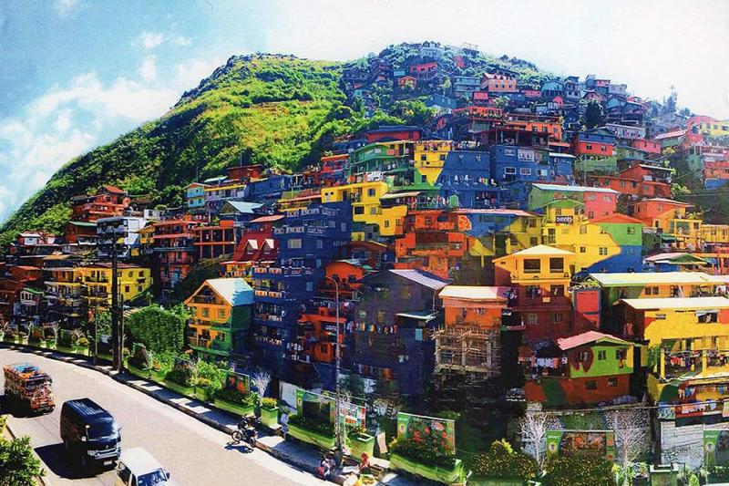 Làng cổ Baguio, Philippines