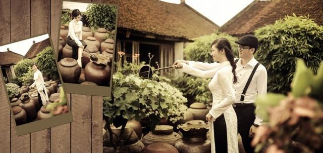 Làng cổ Đường Lâm, nơi chụp ảnh cưới đẹp ở miền Bắc