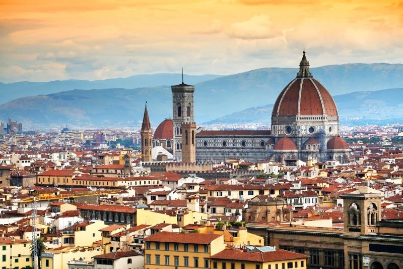 Một Florence tràn đầy sức sống...