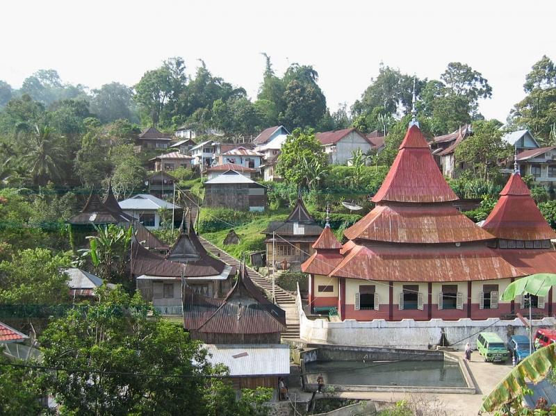 Làng cổ Pariangan, Indonesia