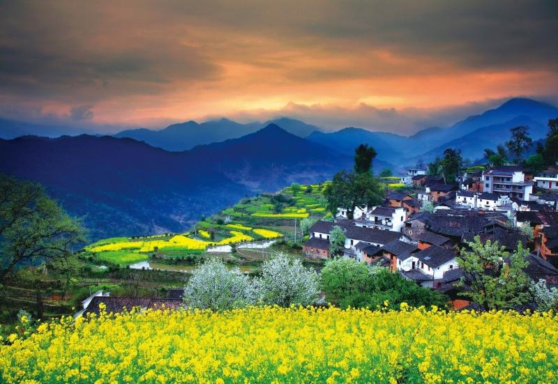 Làng cổ Wuyuan, Trung Quốc