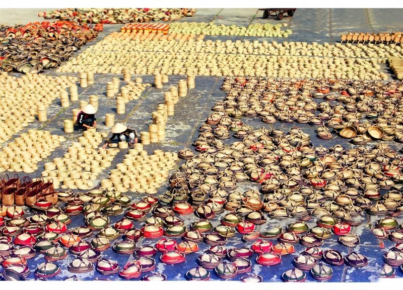 Làng cói Kim Sơn